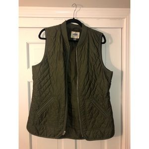 SALE quilted vest